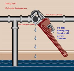 Leaking pipe repair