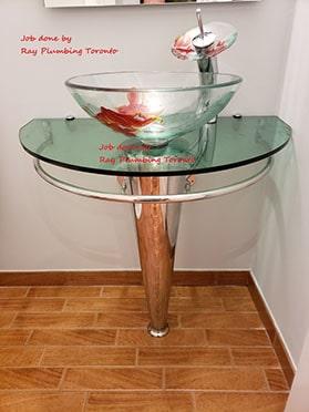 Modern Sink Installation Ray Plumbing